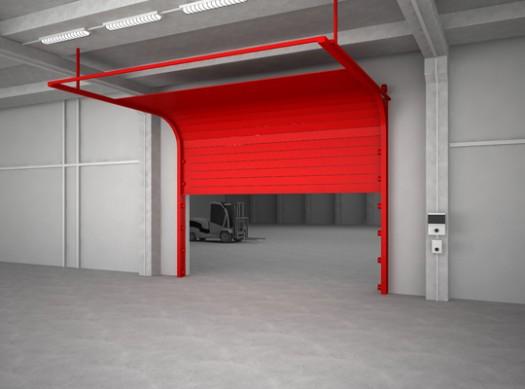Endüstriyel Yangın Kapıları
