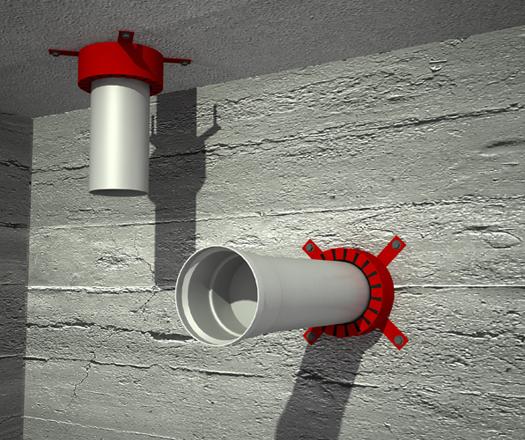 Yangın Durdurucu Kelepçe - FFC